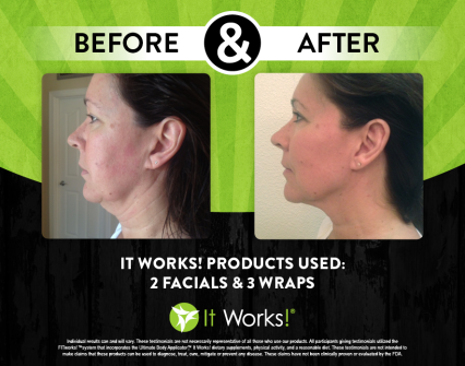 Facial and Skinny Wrap