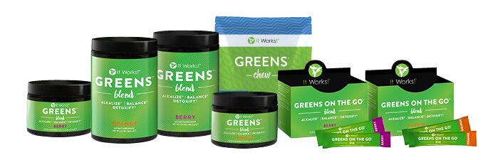 greens-variety