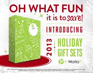 2013 Gift Sets