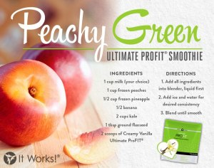 PeachyGreen Smoothie