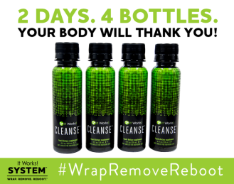 It Works Cleanse: #WrapRemoveReboot