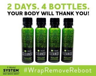 It Works Cleanse: #WrapRemoveReboot
